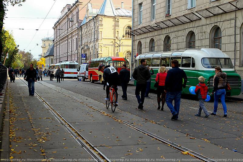 Московский репортаж, Москва, День без машин
