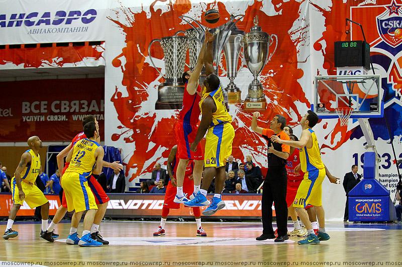 Московский репортаж, Москва, ЦСКА, Маккаби, Maccabi, баскетбол, basketball