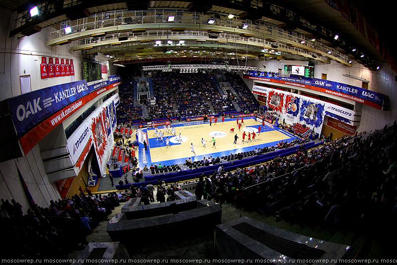 Московский репортаж, Москва, ЦСКА, Жальгирис, Žalgiris, CSKA