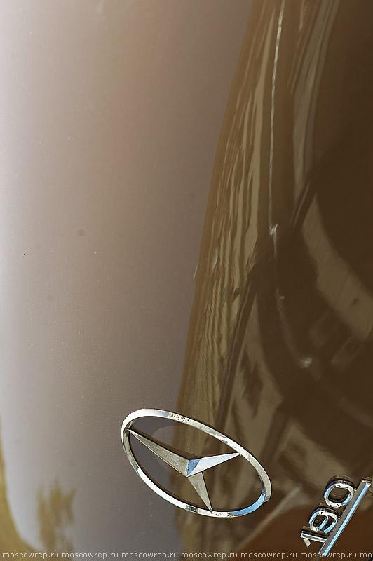 Московский репортаж, Москва, РККА, Ралли Клуб Классических Автомобилей, Четвертый экологический автопробег, Из Прошлого в Будущее