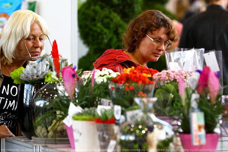 Московский репортаж, Москва, ВДНХ, Цветы Flowers - IPM - 2014, Выставка цветов на ВДНХ
