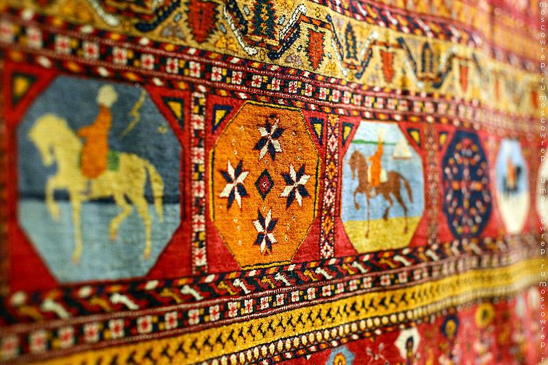 Москва, Московский репортаж, ВМДПНИ, ковроткачество, легендарный конный пробег