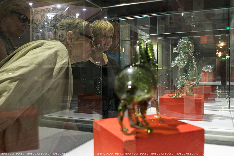 Москва, Московский репортаж, Коломенское, народное стекло, Русский стеклянный фольклор