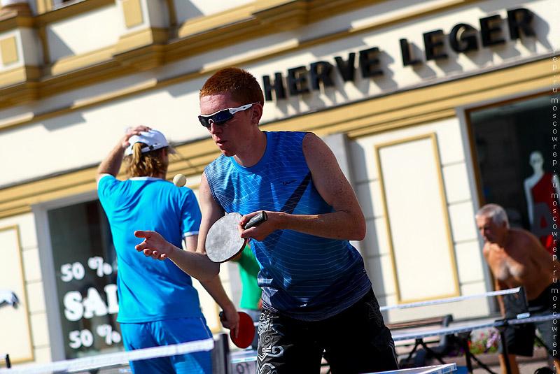 Москва, Московский репортаж,  пинг-понг, Открытый чемпионат по пинг-понгу, ЛГЗ, Лучший город Земли
