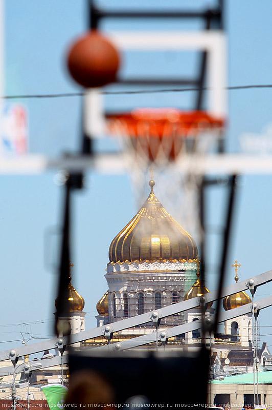 Московский репортаж, Москва, Парк Горького, PROспорт-парк, Adidas, NBA, Хорас Грант, NBA 3X, стритбол, баскетбол