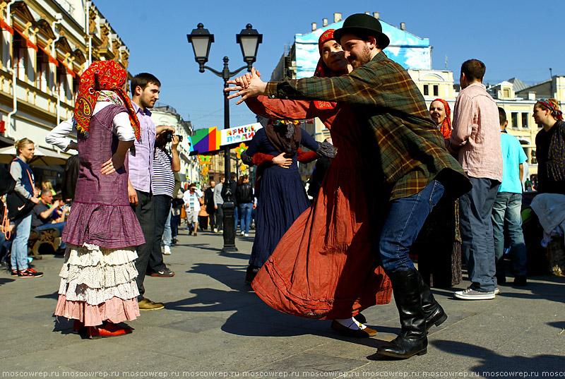 Москва, Московский репортаж, Кузнецкий мост, Пасха