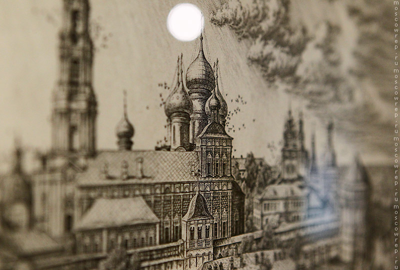 Москва, Московский репортаж, Коломенское, Преподобный Сергий Радонежский