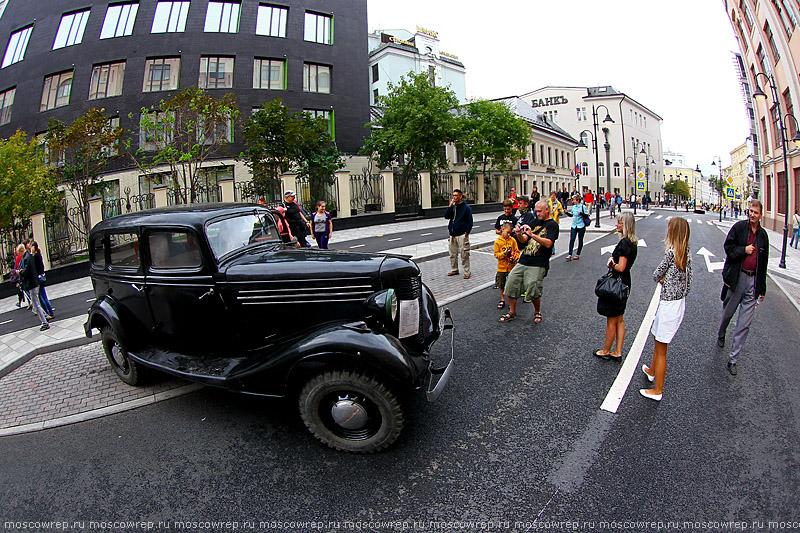 Московский репортаж, Москва, Москва пешеходная, пешеходная зона, Пятницкая улица