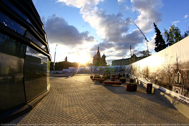 Москва, Московский репортаж, Зарядье