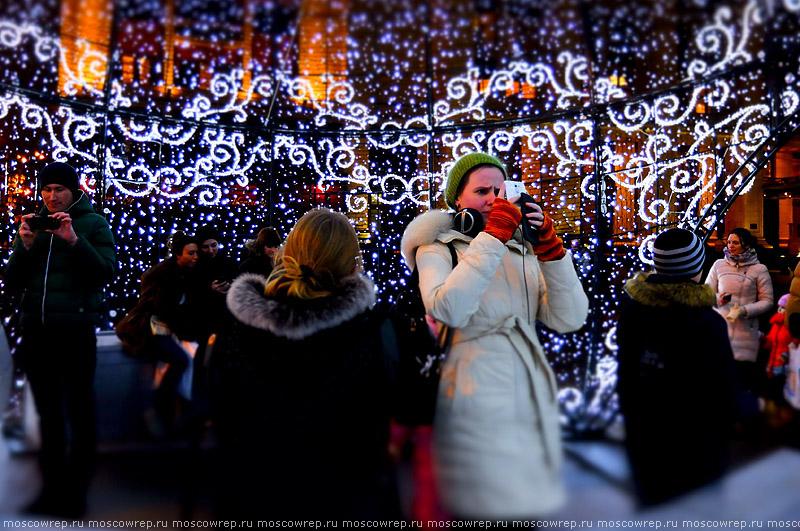 Москва, Московский репортаж, Манеж, Манежная площадь, Шар