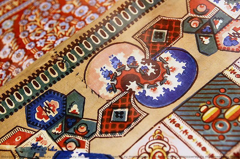 Московский репортаж, Москва, Коломенское, Русские ситцевые платки XIX – начала XX века, ситец, платок, мода