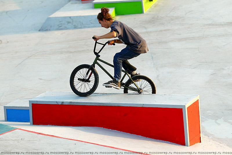 Московский репортаж, Москва, скейтпарк Останкино, скейтбординг