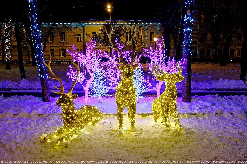 Москва, Московский репортаж, Новый год