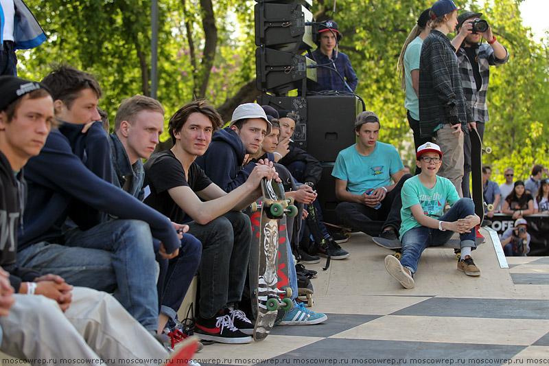 Московский репортаж, Москва, Vans, скейт-парк, Парк Горького
