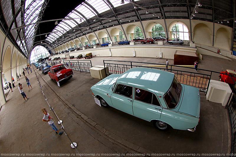 Московский репортаж, Москва, ВДНХ, Выставка ретромашин «Автомобильная промышленность»