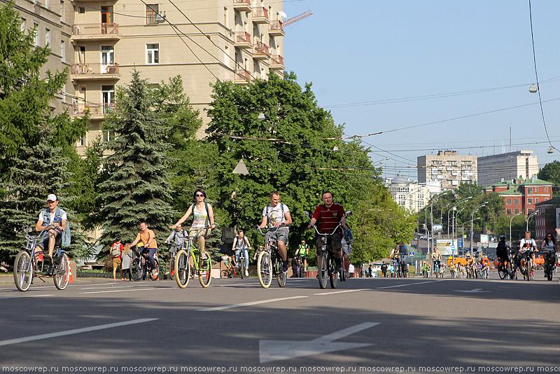 Московский репортаж, Москва, Велобульвар