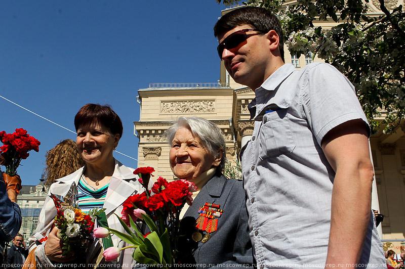Московский репортаж, Москва, День Победы, ветераны, 9 мая