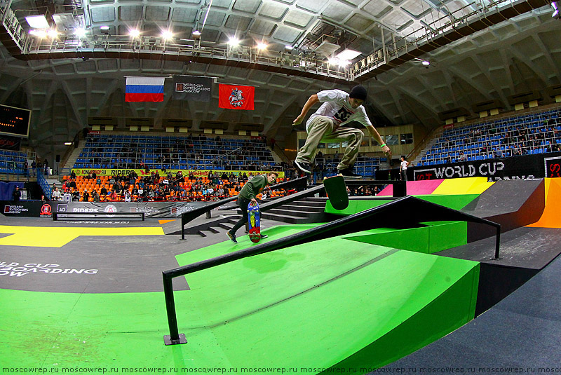 Москва, Московский репортаж, скейтбординг, Дружба, World Cup Skateboarding Moscow 2014