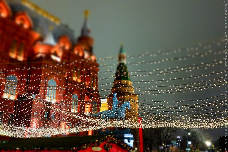 Москва, Московский репортаж, Новогодние ярмарки, Новый год