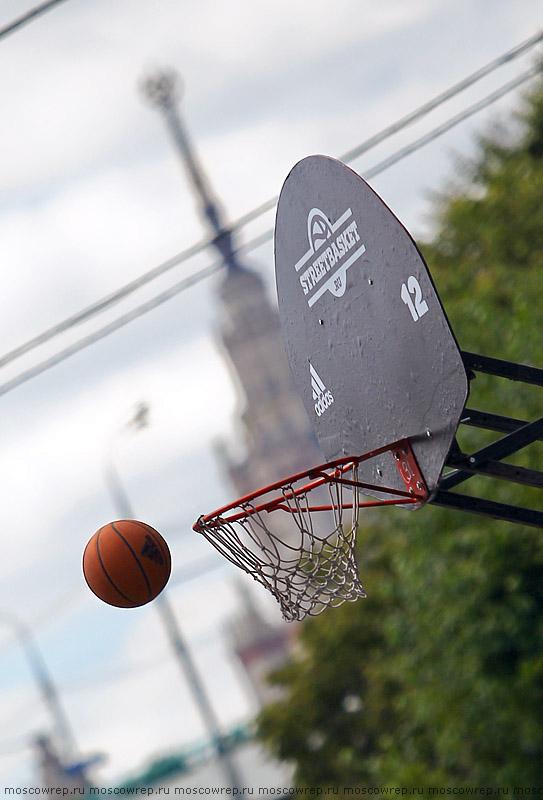 Москва, Московский репортаж, стритбаскет, streetbasket, Под мостом, Летний кубок