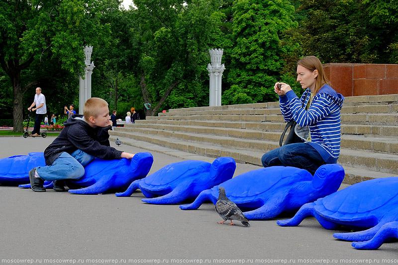 Московский репортаж, Москва, ВДНХ, паблик-арт