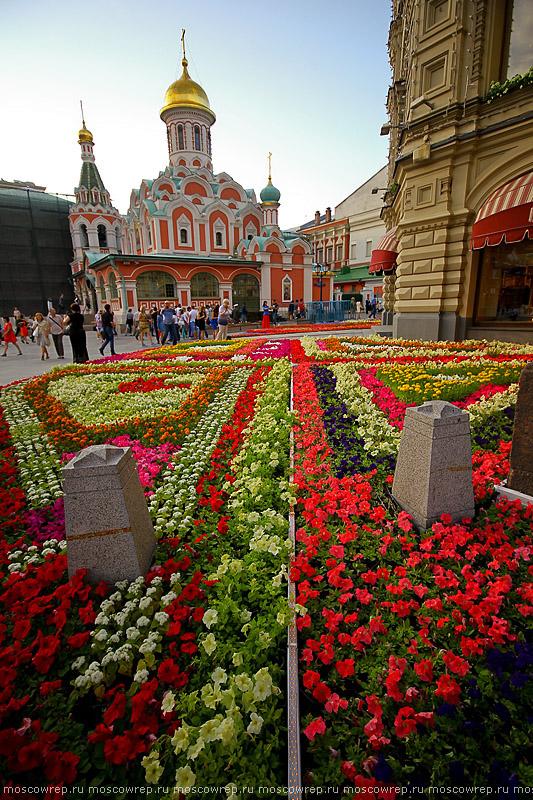 Москва, Московский репортаж, ГУМ, Фестиваль цветов