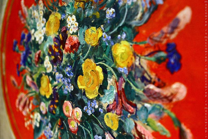 Московский репортаж, Москва, ВМДПНИ, Цветы живущие в вещах