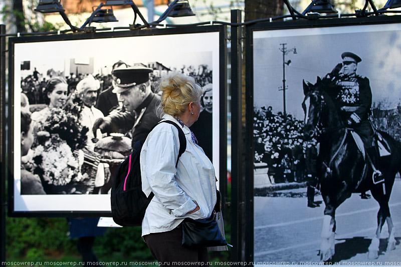 Московский репортаж, Москва, День Победы, 9 мая