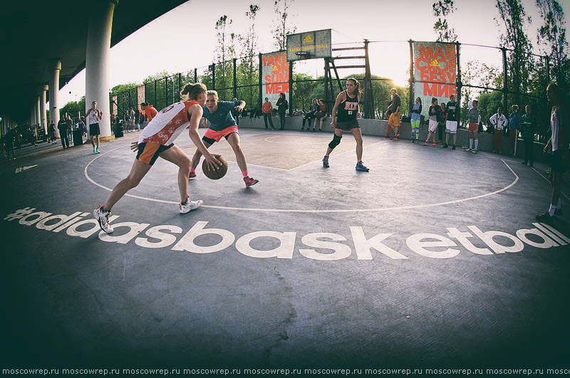 Московский репортаж, Москва, стритбаскет, баскетбол, стритбол, Под мостом, Ghetto basket, basketball, streetball