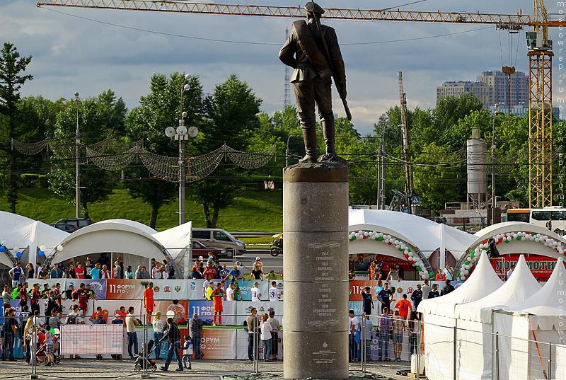 Москва, Московский репортаж, ГТО, Поклонная гора