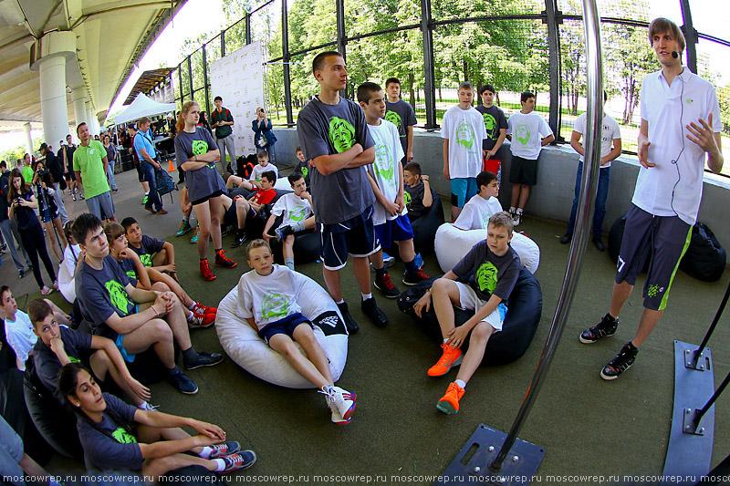 Московский репортаж, Москва, баскетбол, Под мостом, basketball, Андрей Кириленко, Школа 2.0