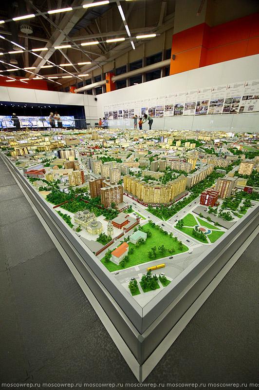 Московский репортаж, Москва, ВДНХ, Макет Москвы