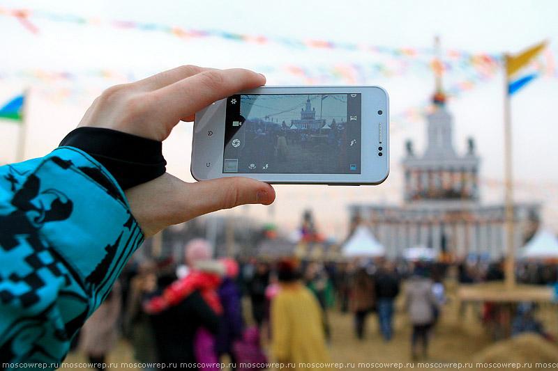 Московский репортаж, Москва, ВДНХ, Масленица