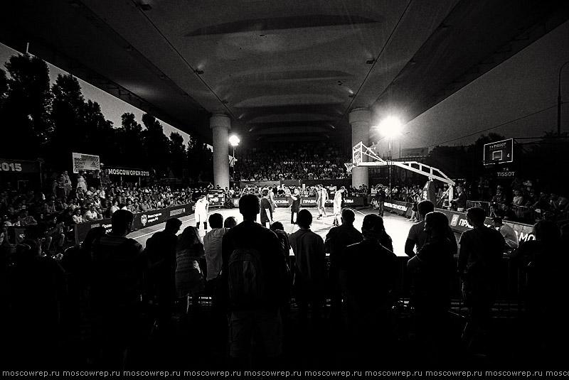 Московский репортаж, Москва, Moscow Open 2015, стритбаскет, streetbasket, Под мостом