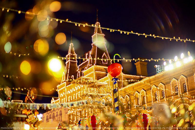 Москва, Московский репортаж, ГУМ, Новый год, ГУМ-ярмарка