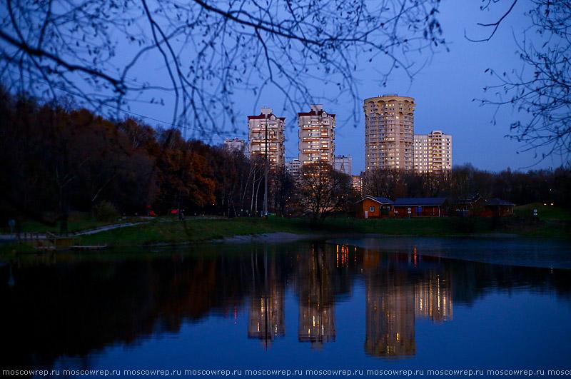 Москва, Московский репортаж, Лосиный остров, осень