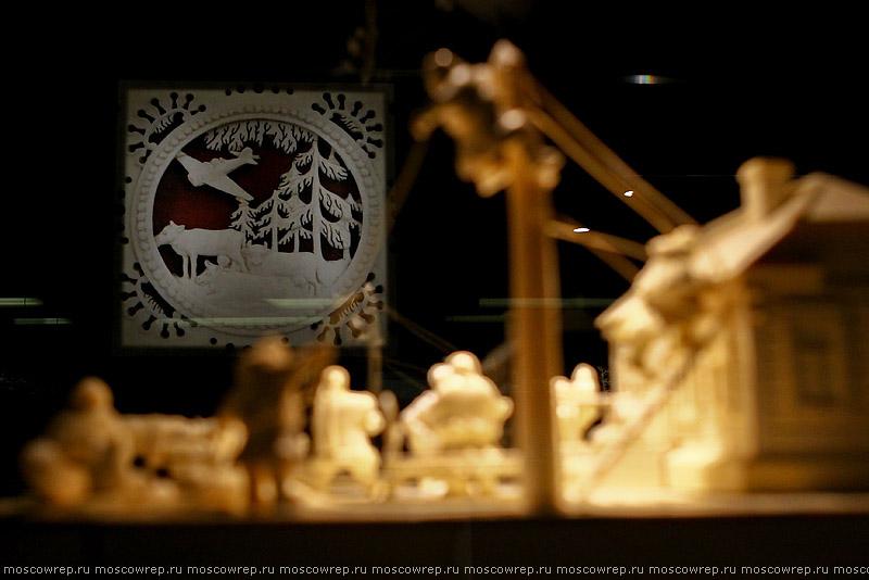 Московский репортаж, Москва, Путешествие по дорогам времени, Косторезное искусство России, ВМДПНИ