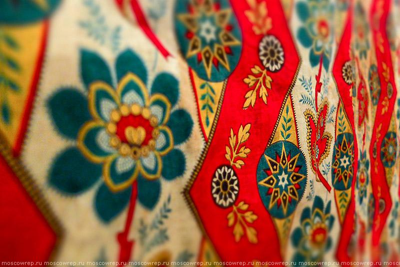 Москва, Московский репортаж, ВМДПНИ, Шелк и ситец Диалог культур