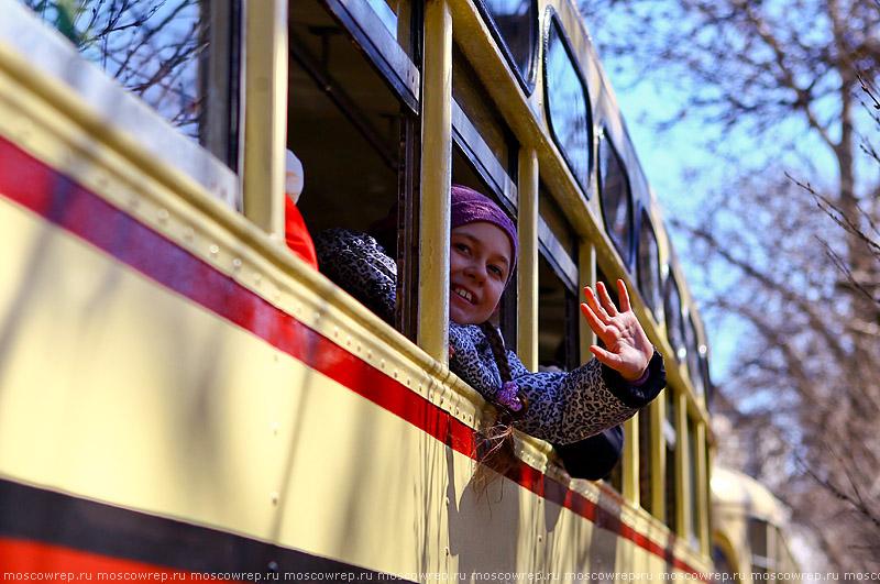 Москва, Московский репортаж, Московский трамвай 116 лет