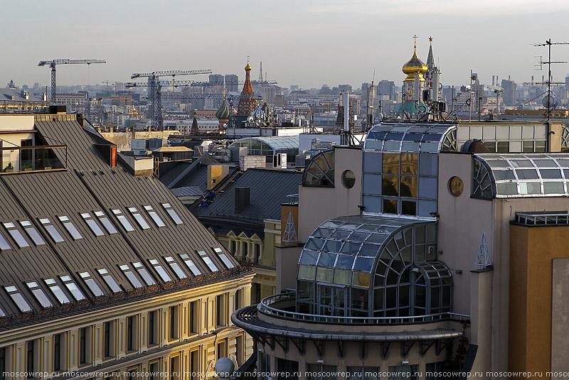 Москва, Московский репортаж, Детский мир, Смотровая площадка