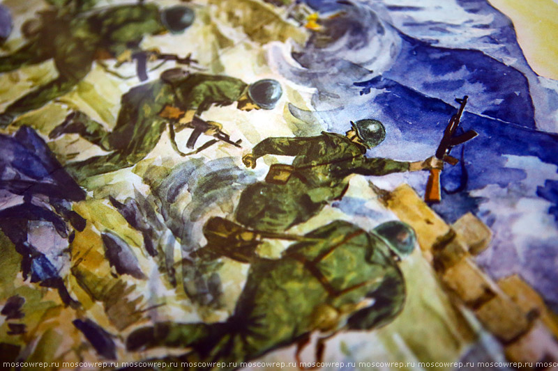 Москва, Московский репортаж, В памяти - Афганистан, Музей Героев Советского Союза и России