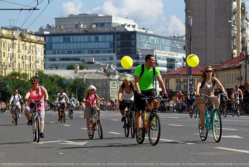 Московский репортаж, Москва, Велопарад, Велопарад-2016, Садовое кольцо, велоспорт, велосипед, байк, велобайк