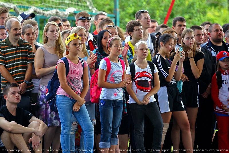 Московский репортаж, Москва, РФБ, Лужники, Под мостом