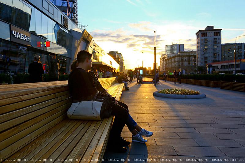 Московский репортаж, Москва, Новый Арбат, Моя улица