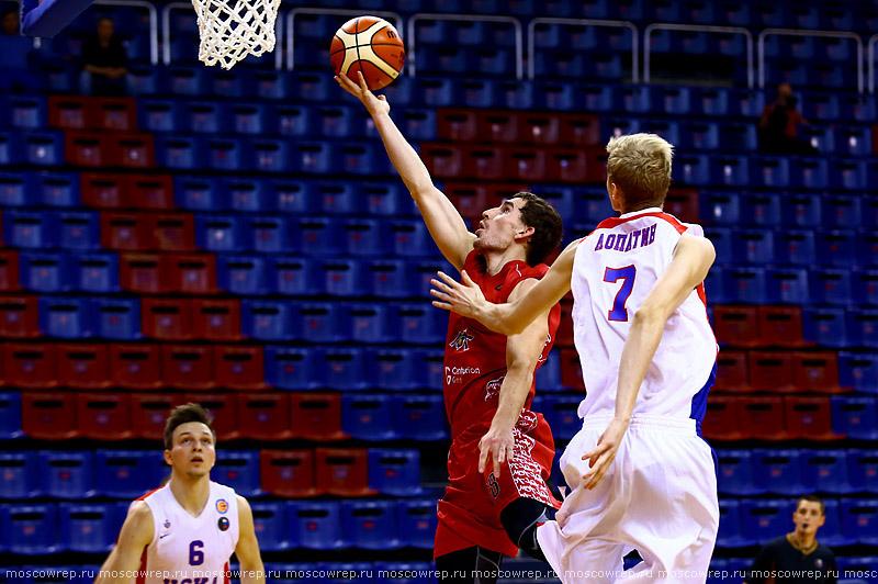 Московский репортаж, Москва, баскетбол, МБА, ПБК МБА, Московская баскетбольная ассоциация