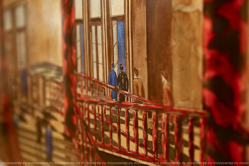 Московский репортаж, Москва, МуАр, Музей архитектуры имени Щусева, метро, Московское метро — подземный памятник архитектуры