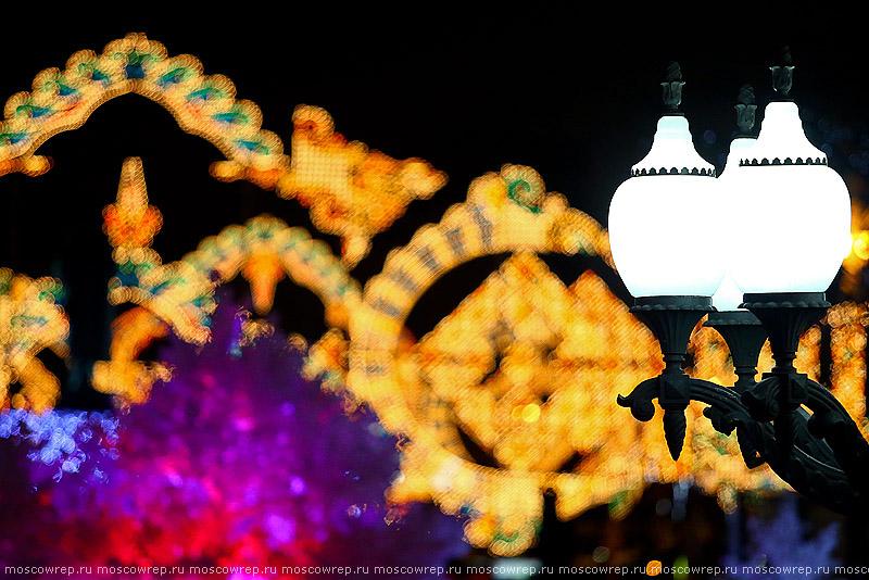 Москва, Московский репортаж, Новый год, Московские сезоны, Путешествие в Рождество