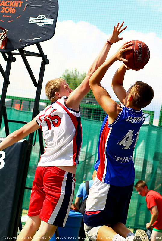 Московский репортаж, Москва, Летний кубок 2016, УЗС Дружба, баскетбол, стритбол