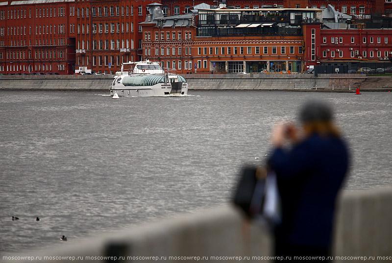 Москва, Московский репортаж, Москва река, навигация