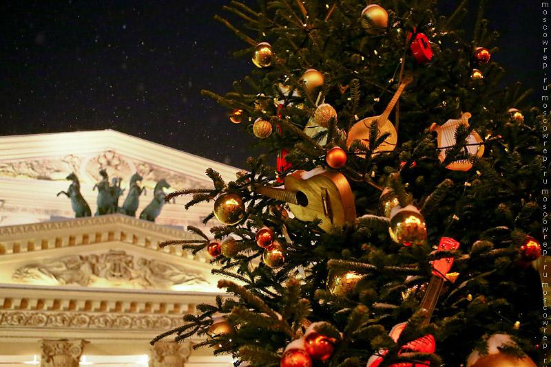 Москва, Московский репортаж, Новый год, Рождественский свет, Рождество